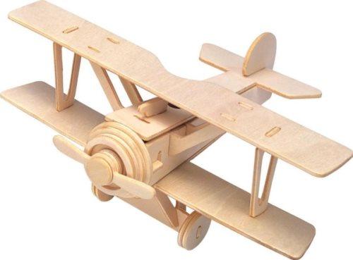 G3 Gepetto Biplane wooden puzzle