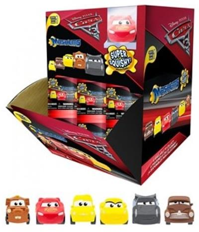 Lelut Toys Pixar Disney Cars Bilar SQUISHY Blind Car 4cm Random