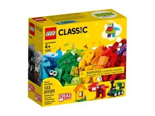 Lego Classic 11001, Palikoita ja ideoita