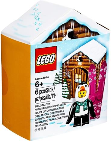 Lego Minifigure 5005251, Penguin Winter Hut
