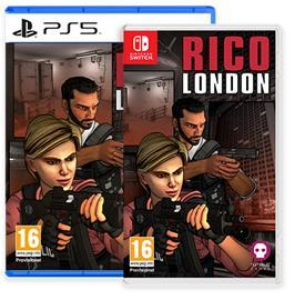 RICO London, PS4 -peli