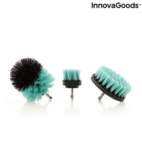 InnovaGoods Cyclean Drill Brush Attachment Set, puhdistusharja porakoneeseen
