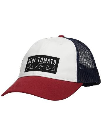 Blue Tomato Slope Cap white / blue / red