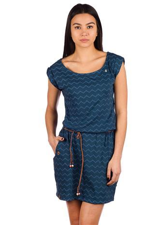 ragwear Tag Chevron Dress navy Naiset