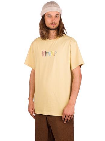 RIPNDIP Embroidered Logo T-Shirt tain Miehet