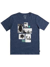 Quiksilver Custom Weather T-Shirt sargasso sea heather Jätkät