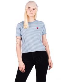 Element Paula Crew T-Shirt faded denim Naiset