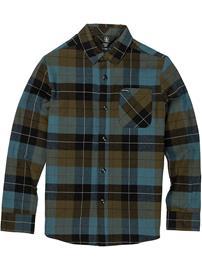 Volcom Caden Plaid Shirt military Jätkät
