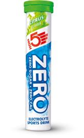 High5 Zero Electrolyte Sports Drink Tabs 20 Pieces, Citrus