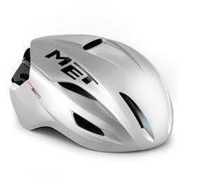 MET Manta MIPS Helmet, white matte glossy