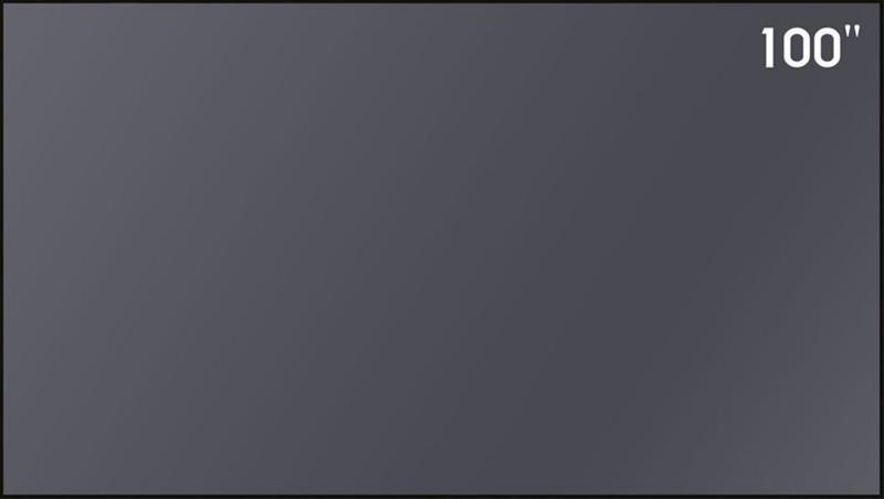"Xiaomi Ambient Light Rejecting 100"" 16:9, valkokangas"