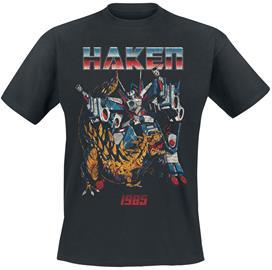 Haken - Transformers - T-paita - Miehet - Musta