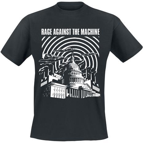Rage Against The Machine - Warzone - T-paita - Miehet - Musta