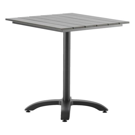 Laituri Pöytä 70x70cm harmaa
