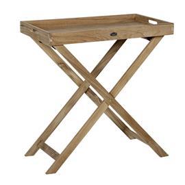 Turin Tarjotinpöytä korkea tiikki