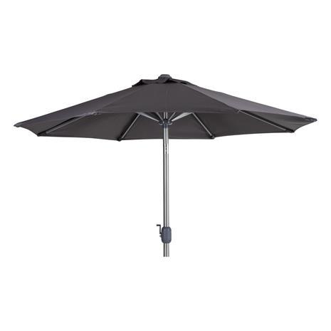 Andria Aurinkovarjo 250x250cm harmaa