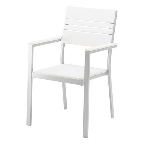 Laituri Tuoli valkoinen