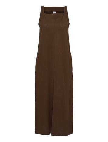 Max Mara Leisure Aminta Dresses Everyday Dresses Ruskea Max Mara Leisure GOLDEN GREEN BROWN
