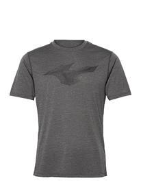 Mizuno Core Rb Tee T-shirts Short-sleeved Harmaa Mizuno MAGNET