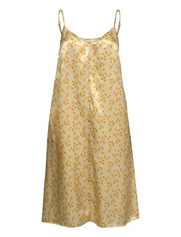 Lovechild 1979 Dalila Dress Dresses Everyday Dresses Nightdresses Keltainen Lovechild 1979 LEMON CURRY