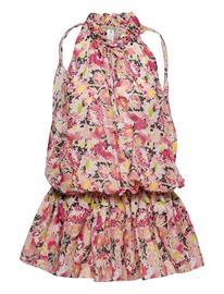 Stella McCartney Lingerie Linda Floral Short Dress Lyhyt Mekko Monivärinen/Kuvioitu Stella McCartney Lingerie MULTICOLOUR