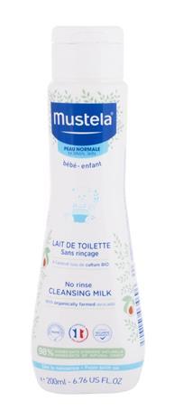 Mustela Bä©bä© No Rinse Cleansing Milk vartaloemulsio lapsille 200 ml