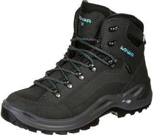 Lowa Renegade Mid W GTX Wide Asphat/Turquoise UK 6,5