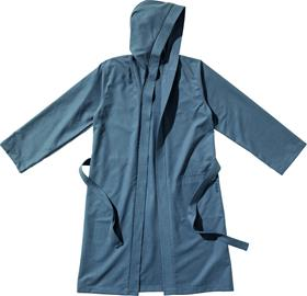 Traveler's Tree Bathrobe Ultralight with Hood, kylpytakki mikrokuitua