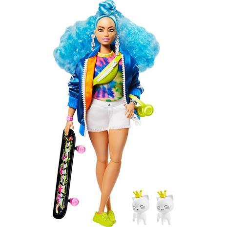 Barbie GRN30, Doll 4 with Skateboard & 2 Kittens