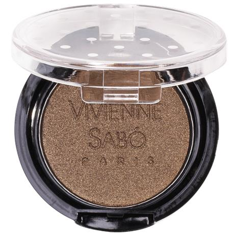 Luomiväri Vivienne Sabo Long-Lasting Mono Eyeshadow Petits Jeux, 117 Golden Tobacco Pearl