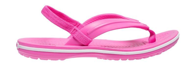 "Crocsâ""¢ lasten vapaa-ajan kengät Crocband Strap Flip Kid's, pinkki 26"