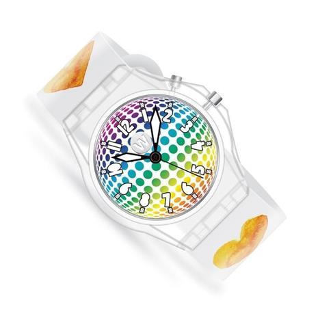 Watchitude - GLOW Watch for kids - Watercolor Hearts (621)