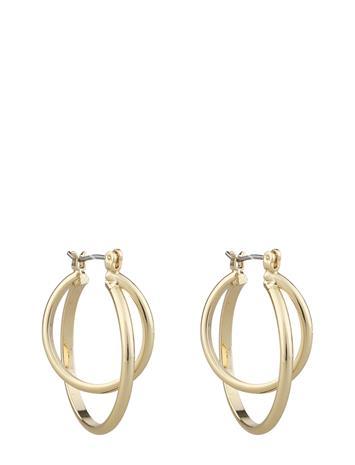 SNä– of Sweden Alba Small Ring Ear Accessories Jewellery Earrings Hoops Kulta SNä– Of Sweden PLAIN G, Naisten hatut, huivit ja asusteet