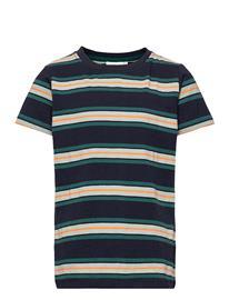 The New Theo S_s Tee T-shirts Short-sleeved Sininen The New NAVY BLAZER, Lastenvaatteet