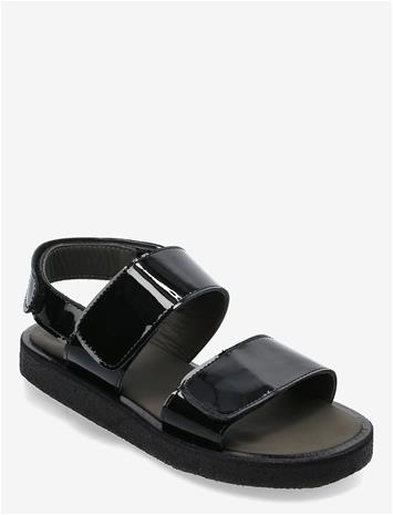 ANGULUS Sandals - Flat - Open Toe - Op Shoes Summer Shoes Sandals Musta ANGULUS 2320 BLACK, Lasten kengät