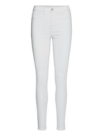 Vila Visway Rwsk Jeans - Skinny Farkut Valkoinen Vila OPTICAL SNOW
