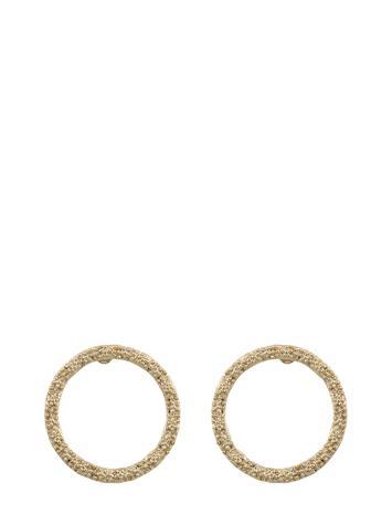 SNä– of Sweden Light Ring Ear Accessories Jewellery Earrings Studs Kulta SNä– Of Sweden PLAIN G