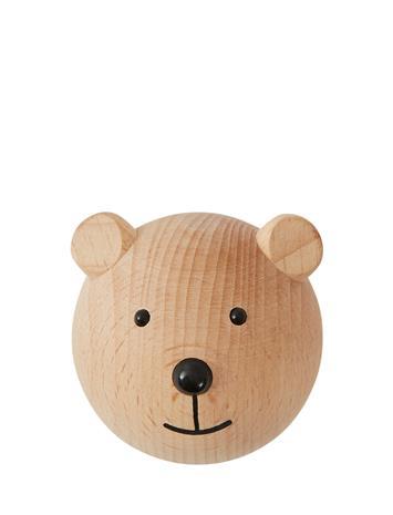 OYOY Living Design Mini Hook - Bear Home Kids Decor Ruskea OYOY Living Design NATURE