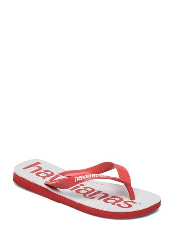 Havaianas Top Logomania 2 Shoes Summer Shoes Flip Flops Punainen Havaianas RED CRUSH 5778, Naisten kengät