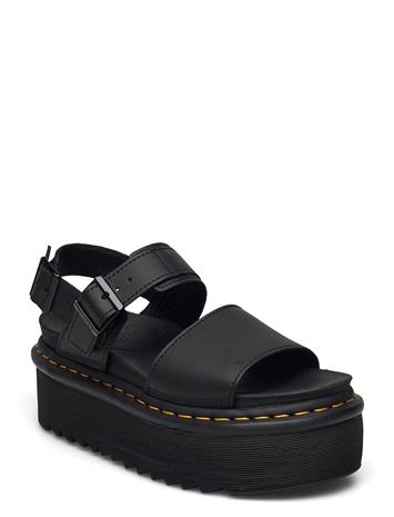 Dr. Martens Voss Quad Shoes Summer Shoes Flat Sandals Musta Dr. Martens BLACK, Naisten kengät