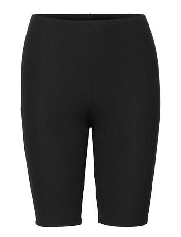 ONLY Onlnella Bike Shorts Jrs Shorts Cycling Shorts Musta ONLY BLACK, Naisten housut ja shortsit