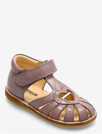 ANGULUS Sandals - Flat - Closed Toe - Shoes Summer Shoes Sandals Vaaleanpunainen ANGULUS 1387 ROSE, Lasten kengät