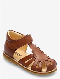 ANGULUS Sandals - Flat - Closed Toe - Shoes Summer Shoes Sandals ANGULUS 1431 COGNAC, Lasten kengät