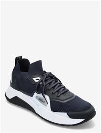 HUGO Atom_runn_kn1 Shoes Sport Shoes Running Shoes Sininen HUGO DARK BLUE, Miesten kengät