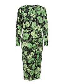 Lovechild 1979 Axum Dress Polvipituinen Mekko Vihreä Lovechild 1979 MULTI, Naisten hameet ja mekot