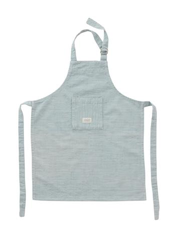 OYOY Living Design Gobi Apron Mini Home Role Play Baking & Cooking Sininen OYOY Living Design WHITE / DUSTY BLUE