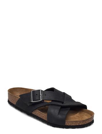Birkenstock Lugano Shoes Summer Shoes Sandals Musta Birkenstock CAMBERRA BLACK