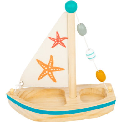 Smallfoot® Vesilelu purjevene meritähti