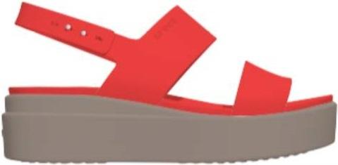 "Crocsâ""¢ naisten vapaa-ajan kengät Brooklyn Low Wedge Womens 42,5"
