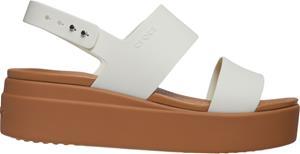 """Crocsâ""""¢ naisten vapaa-ajan kengät Brooklyn Low Wedge Womens, beige 36,5"""